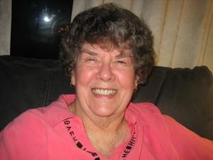 Mary Ann at 75 - still smilin'