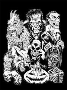 Pix of Halloween monsters