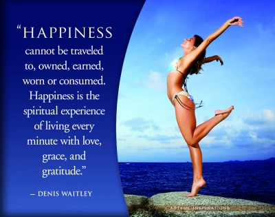 happiness from love and gratitude